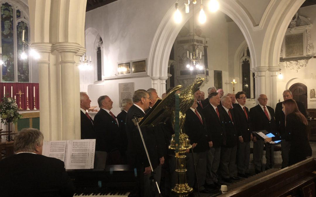 2019 – Welsh voices sing in aid of the Cornish Samaritans