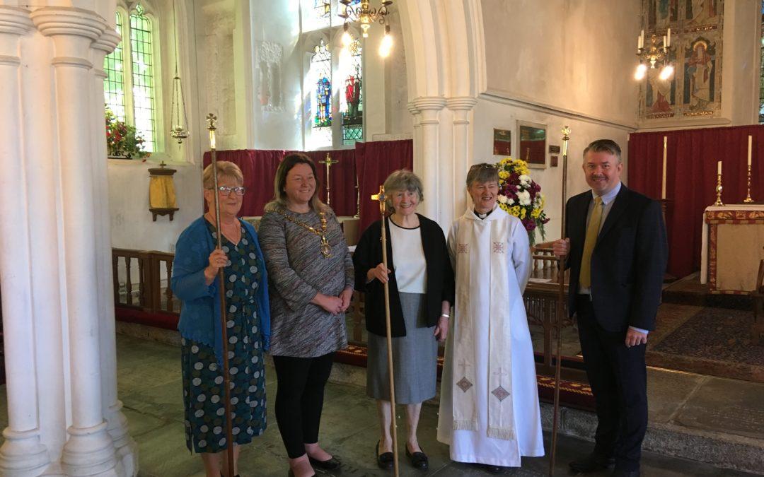 2019 – First Female Churchwarden