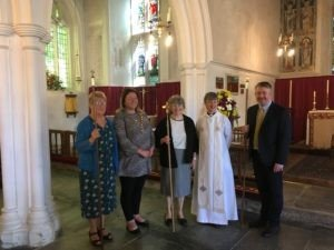 2019 – First Female Churchwarden